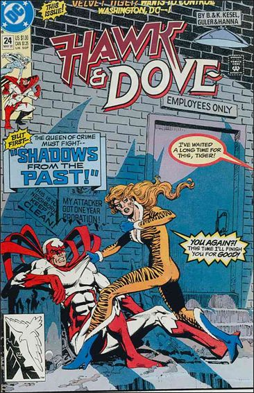Hawk and Dove (1989) 24-A by DC