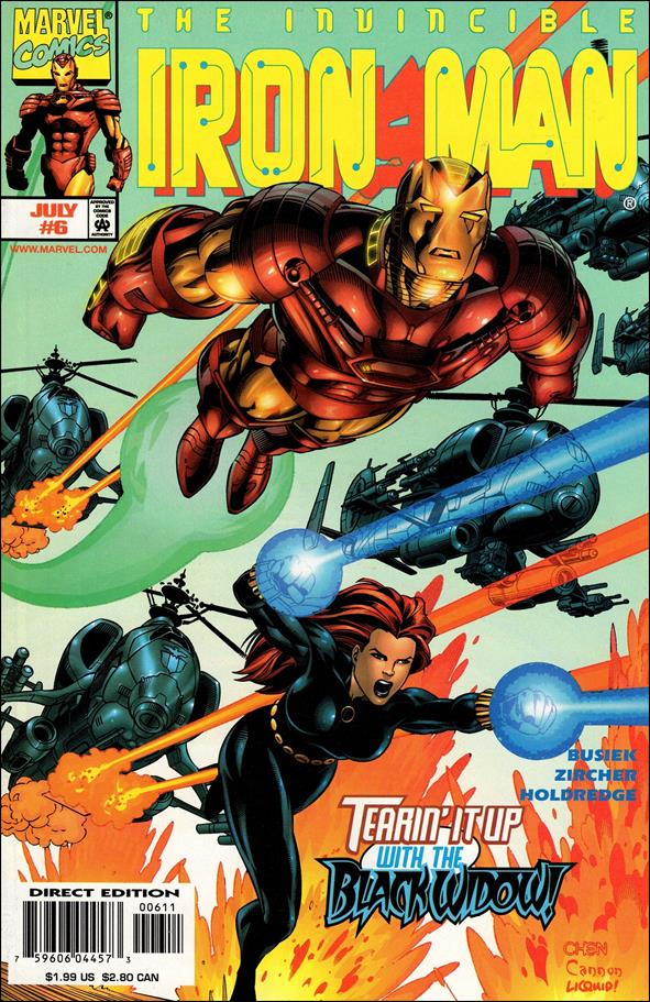 Iron Man (1998) 6-A by Marvel