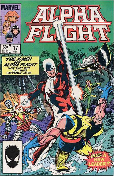 Alpha Flight (1983) 17-A by Marvel