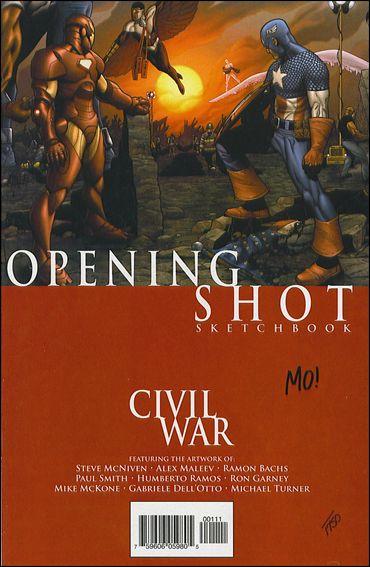 Civil War: Opening Shot 1-B by Marvel
