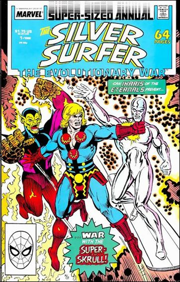 Silver Surfer Annual 1-A by Marvel