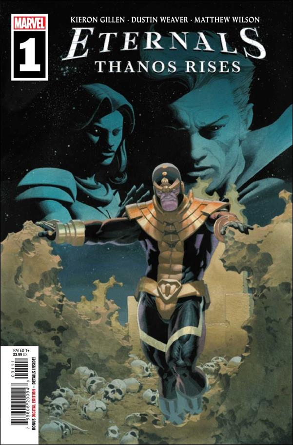 Eternals: Thanos Rises 1-A by Marvel