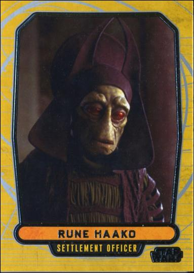 Star Wars Galactic Files (Base Set) 9-A by Topps