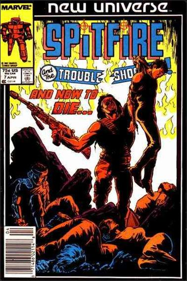 Spitfire and the Troubleshooters 7-A by Marvel