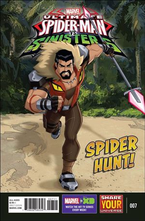 Marvel Universe Ultimate Spider-Man vs. the Sinister Six 7-A