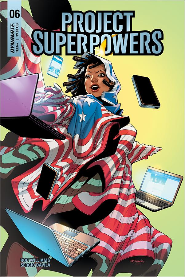 Project Superpowers: Chapter Three 6-E by Dynamite Entertainment