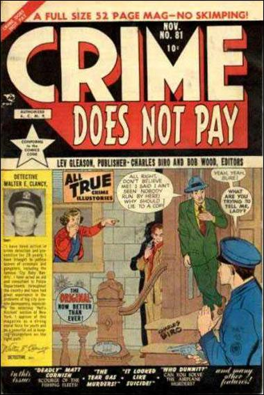 Crime Does Not Pay 81-A by Lev Gleason Productions