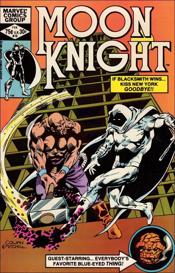Moon Knight (1980) 16-A by Marvel