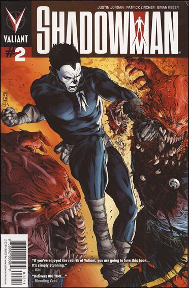 Shadowman (2012) 2-A by Valiant Entertainment