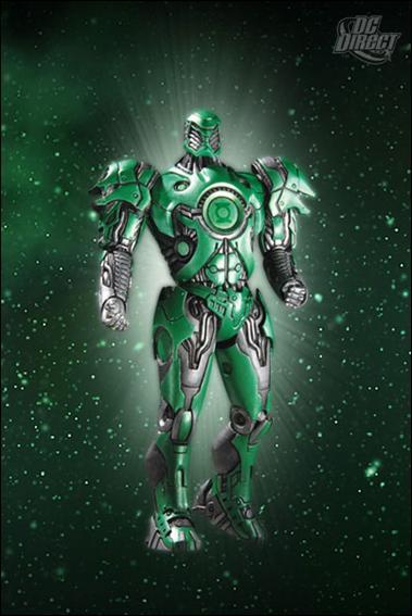 Green Lantern (Series 4) Green Lantern Stel by DC Direct