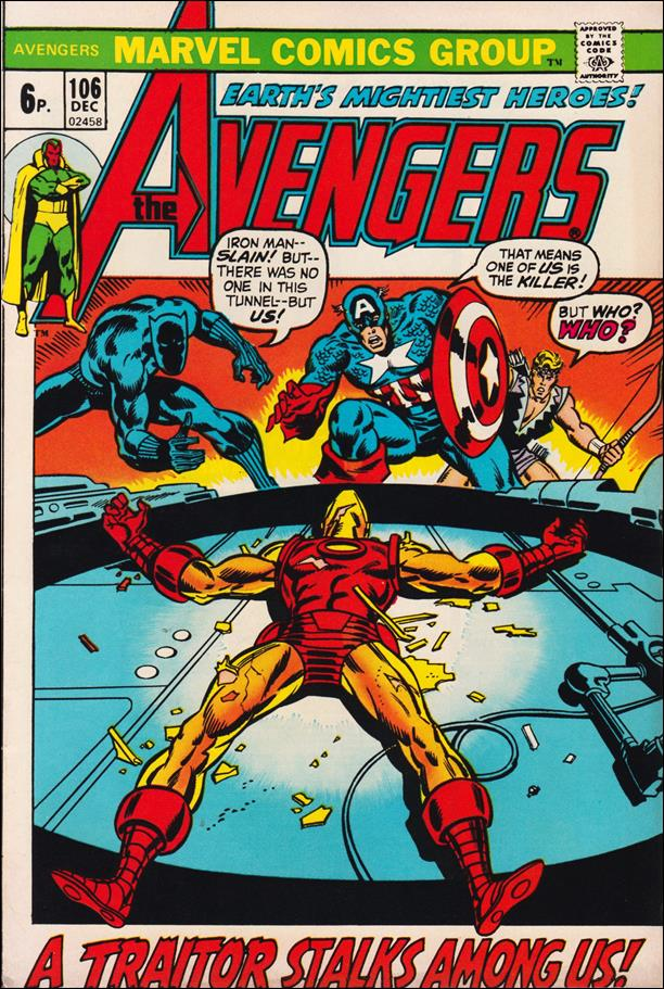 Avengers (1963) 106-B by Marvel
