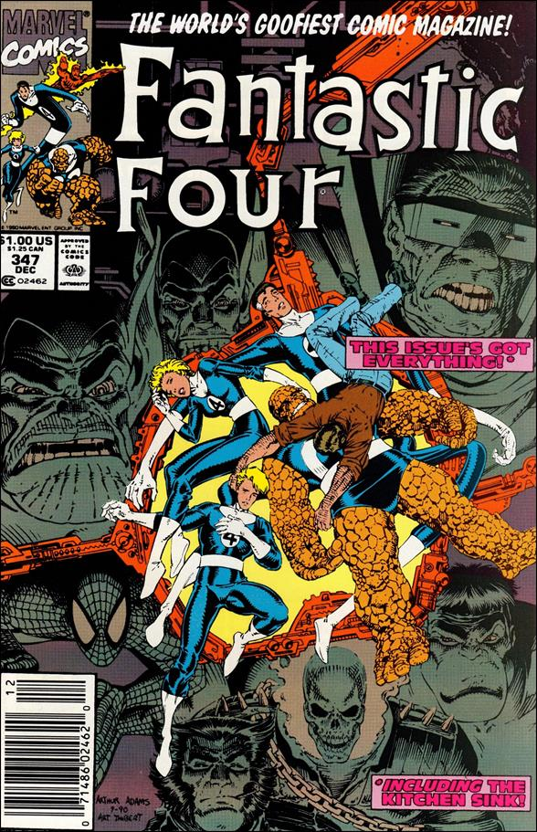 Fantastic Four (1961) 347-A by Marvel