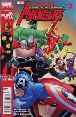 Avengers Earth's Mightiest Heroes (2012) 3-A