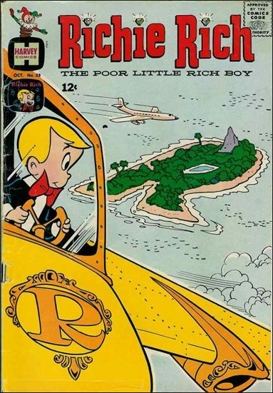 Richie Rich (1960) 38-A by Harvey
