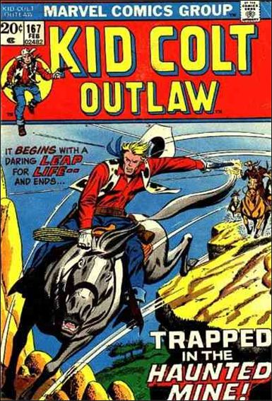 Kid Colt Outlaw  167-A by Marvel