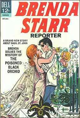Brenda Starr Reporter 1-A by Dell