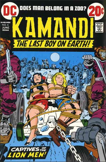 Kamandi, the Last Boy on Earth 6-A by DC