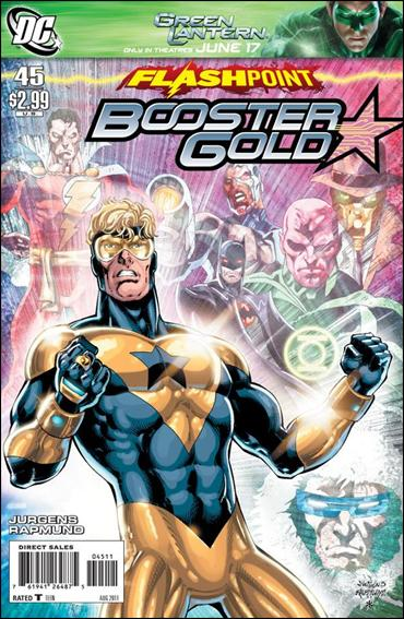 Booster Gold (2007) 45-A by DC
