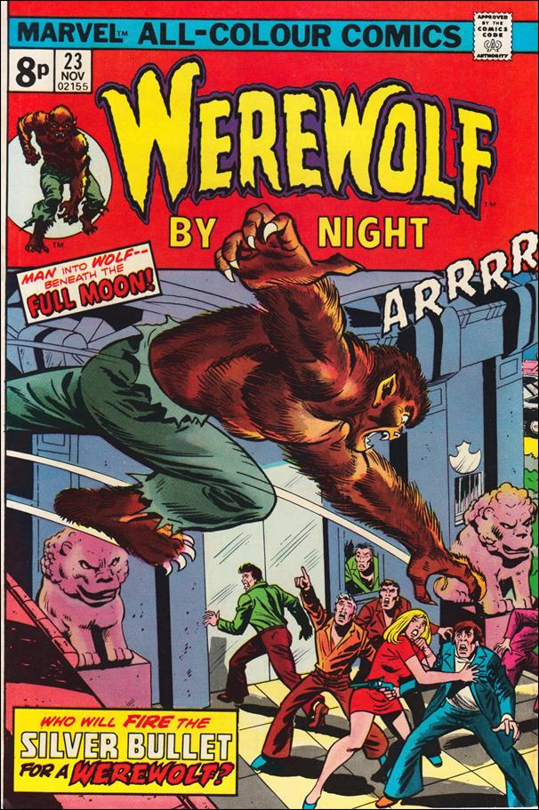 Werewolf by Night (1972) 23-B by Marvel