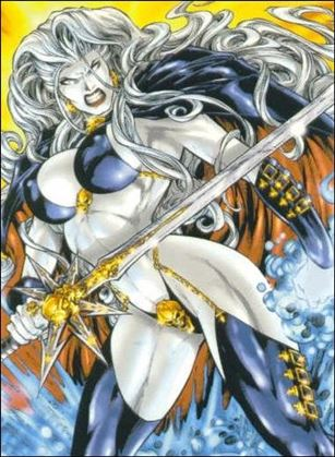 Lady Death and the Women of Chaos!: Love Bites (Base Set) 28-A