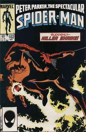 Spectacular Spider-Man (1976) 102-A