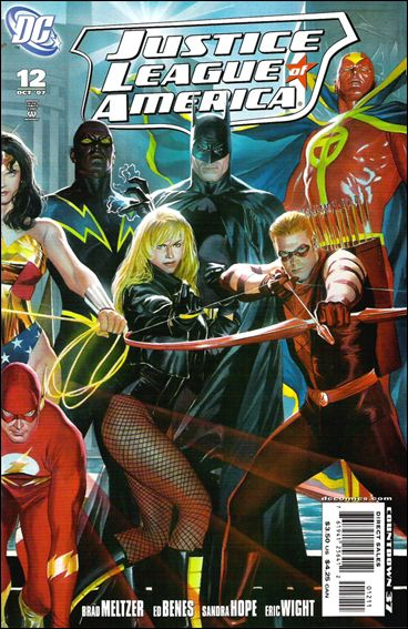 Justice League of America (2006) 12-B by DC