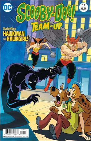 Scooby-Doo Team-Up 17-A
