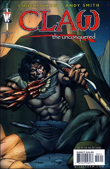 Claw the Unconquered (2006) 3-A by WildStorm