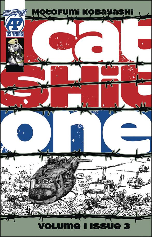 Cat Shit One 3-A by Antarctic Press