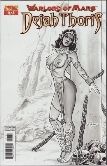 Warlord of Mars: Dejah Thoris 17-D by Dynamite Entertainment