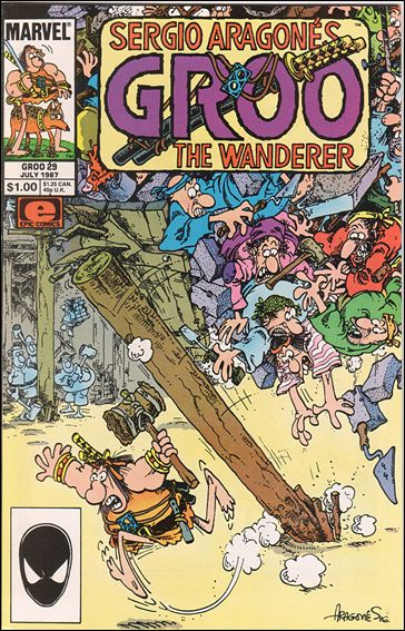 Sergio Aragones Groo the Wanderer 29-A by Epic