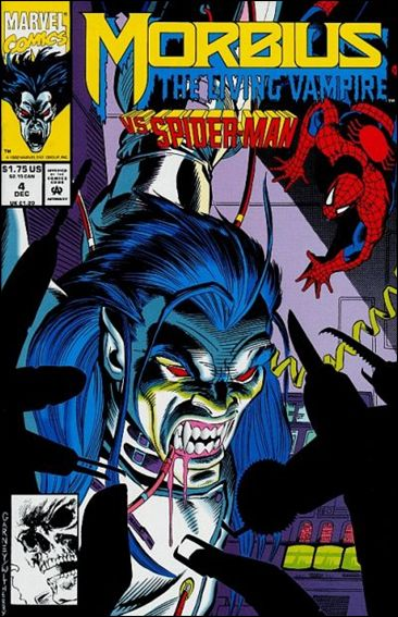 Morbius: The Living Vampire (1992) 4-A by Marvel