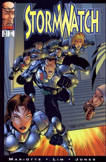 StormWatch (1993) 29-A by Image