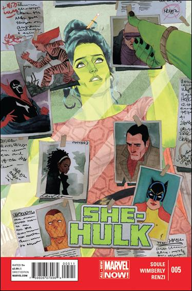 She-Hulk (2014) 5-A by Marvel