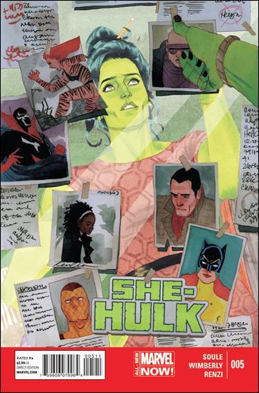 She-Hulk (2014) 5-A by Marvel