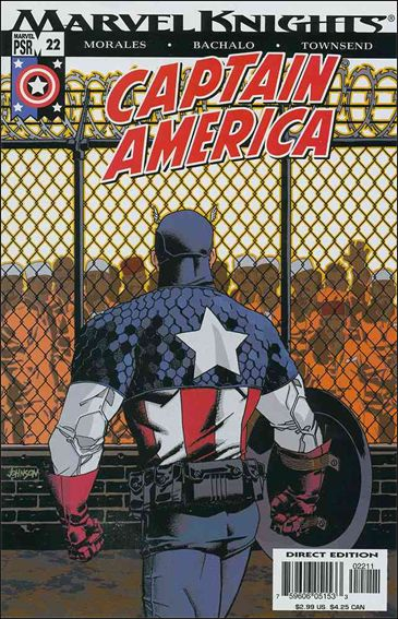 Captain America (2002) 22-A by Marvel