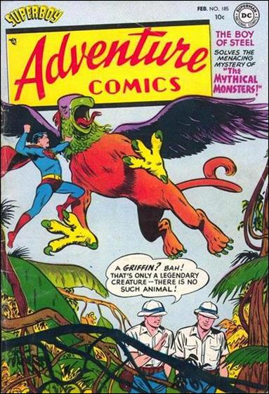 Adventure Comics (1938) 185-A by DC