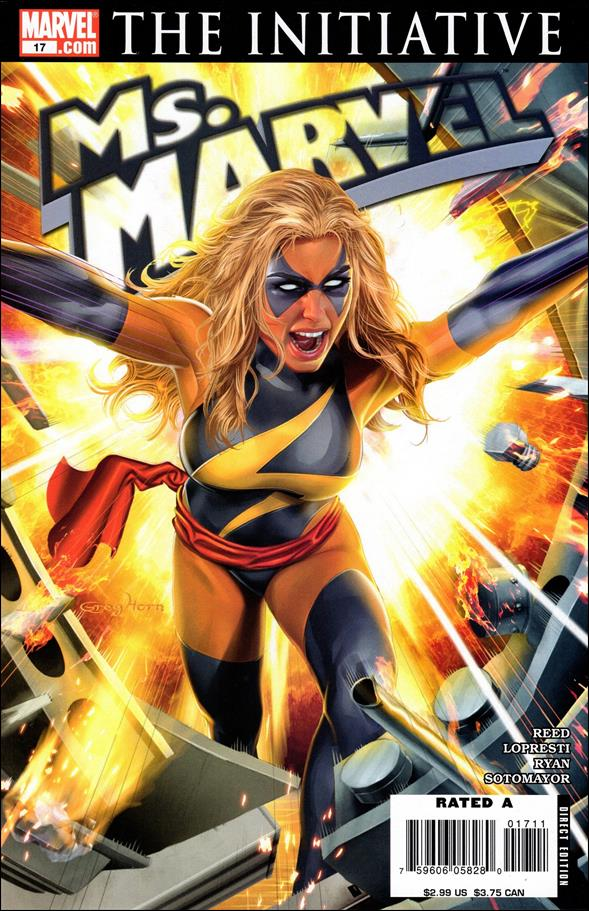 Ms. Marvel (2006) 17-A by Marvel