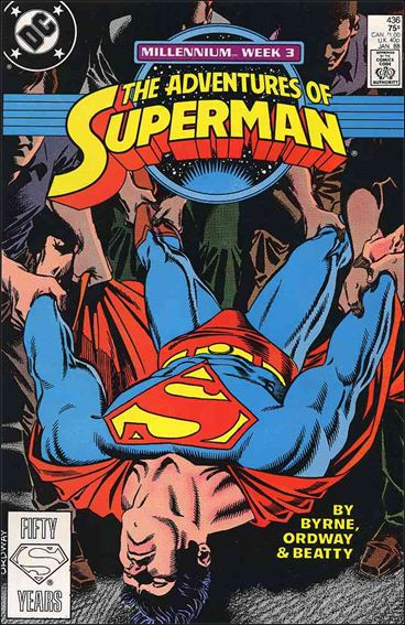 Adventures of Superman (1987) 436-A by DC