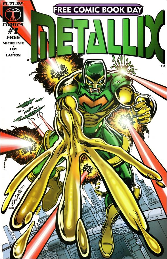 Metallix 1-C by Future Comics