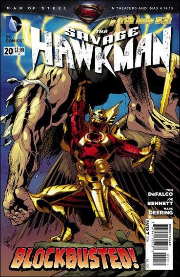 Savage Hawkman 20-A by DC