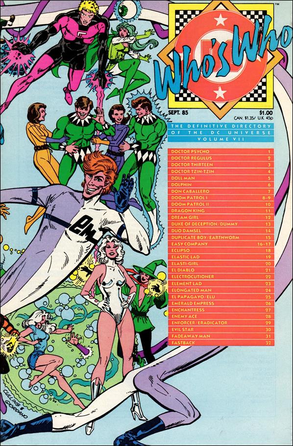 Who's Who: The Definitive Directory of the DC Universe 7-A by DC
