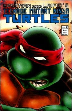 Teenage Mutant Ninja Turtles (1984) 5-B by Mirage