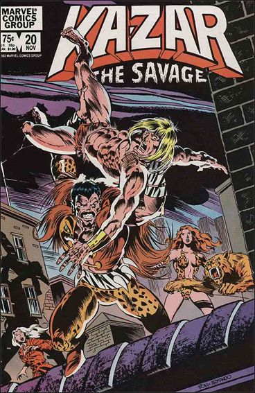 Ka-Zar the Savage 20-A by Marvel