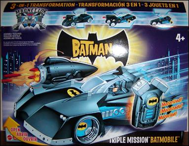 Batman (Vehicles) Triple Mission Batmobile by Mattel