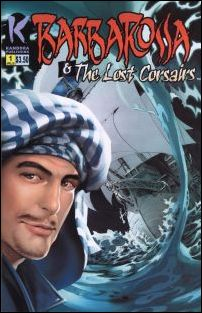 Barbarossa and the Lost Corsairs 1-A by Kandora