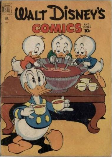 Walt Disney's Comics and Stories (1940) 136-A by Dell
