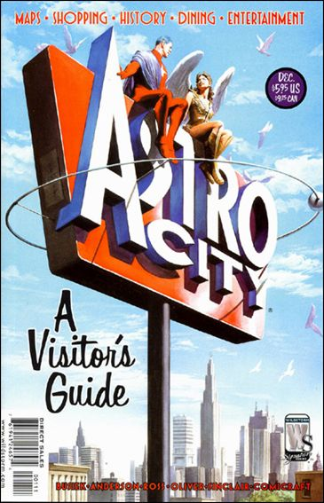 Astro City A Visitors Guide 1-A by WildStorm Signature