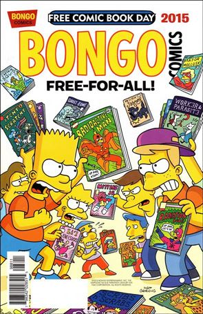 Bongo Comics Free-For-All! 2015-A