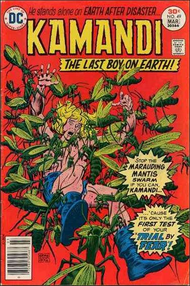Kamandi, the Last Boy on Earth 49-A by DC